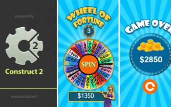 Construct 2 : เกม Wheel of Fortune