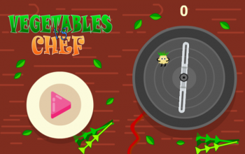 Construct 2 : สร้างเกม Vegetables vs. Chef